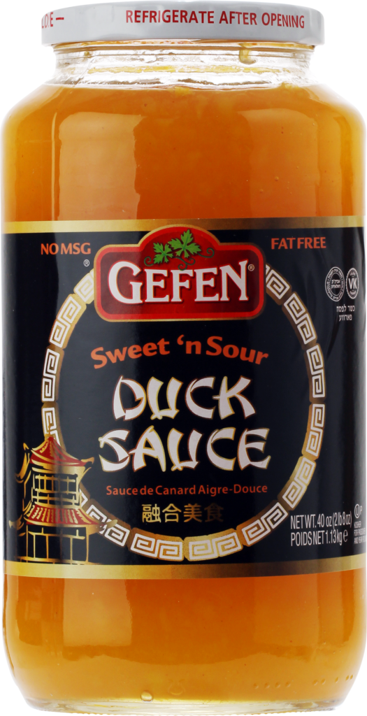 Sweet n' Sour Duck Sauce 40oz Gefen KP