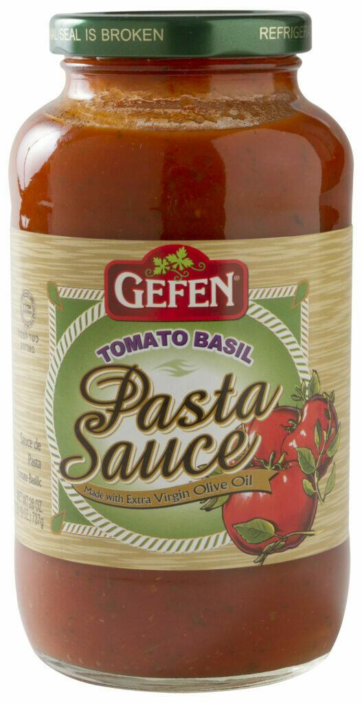 Tomato Basil Pasta Sauce 26oz Gefen KP