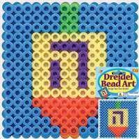 Bead Art - Dreidel