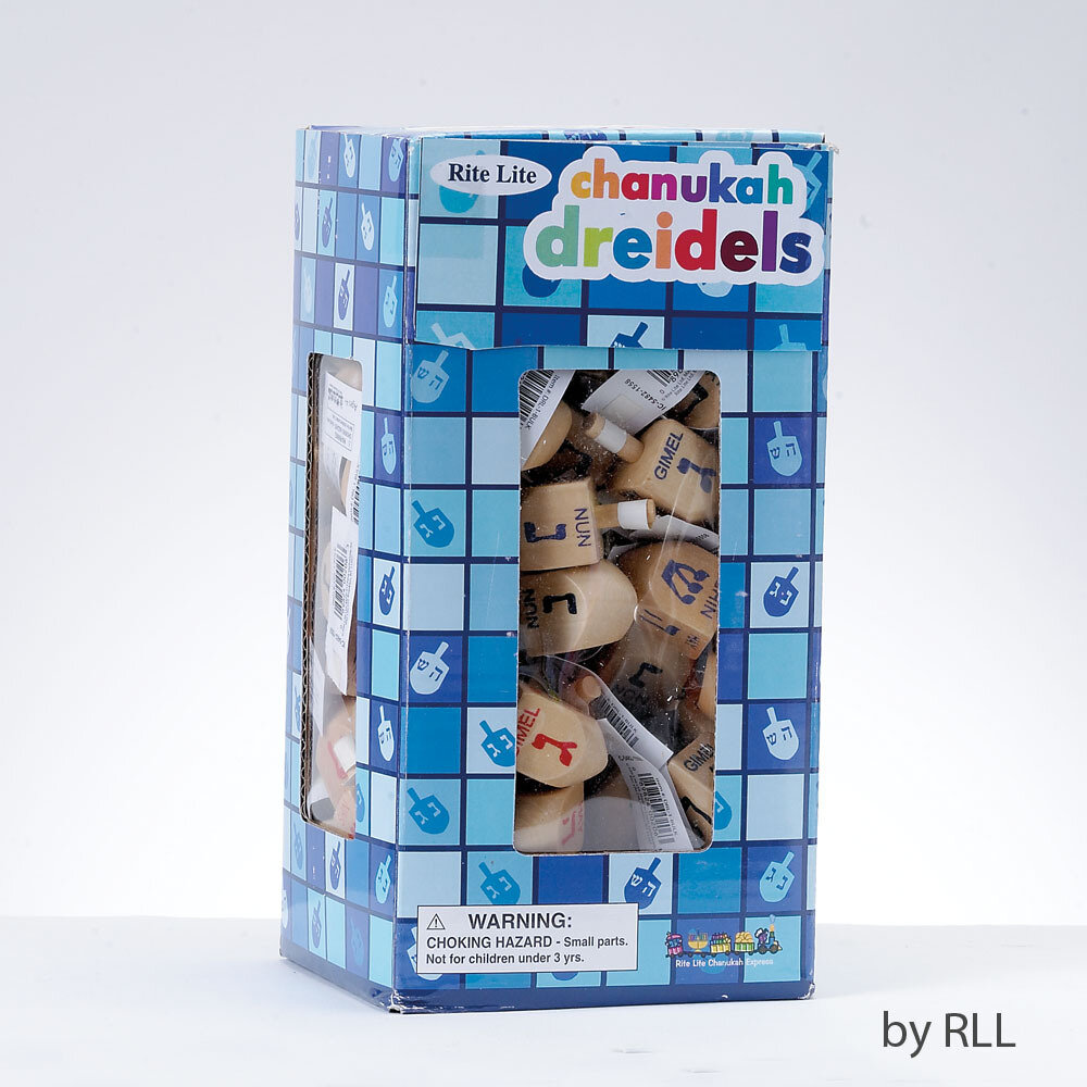 Dreidel wood small