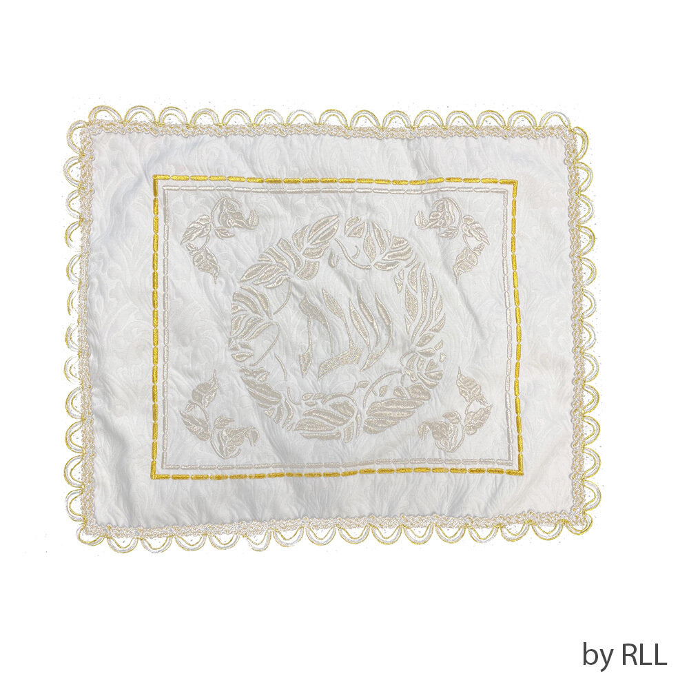 CHALLAH COVER, white