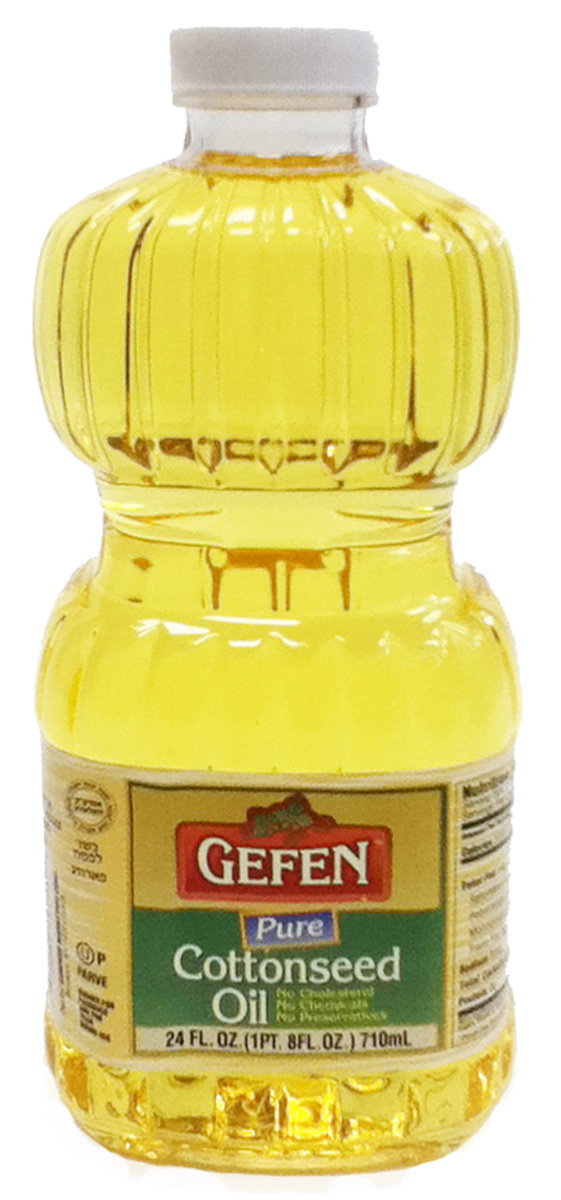 Cottonseed Oil 24oz Gefen KP