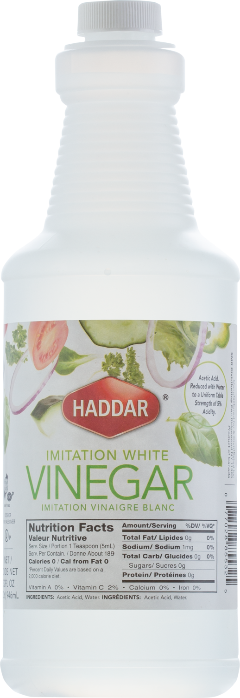 Imitation White Vinegar 32oz Haddar KP
