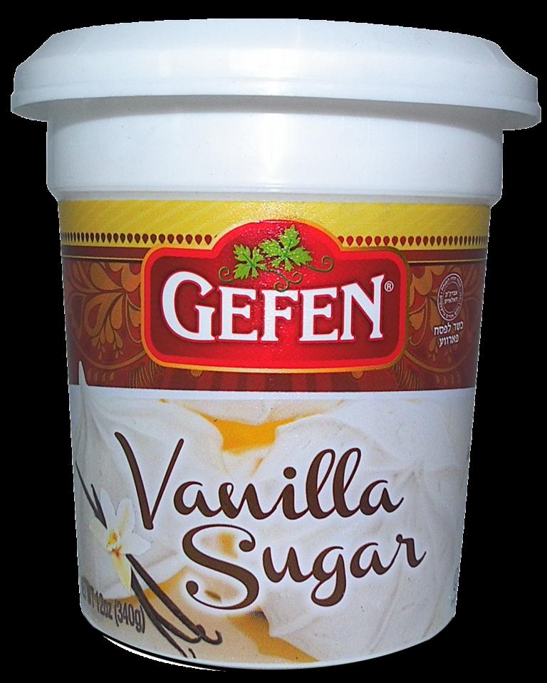 Vanilla Sugar 12oz Gefen KP
