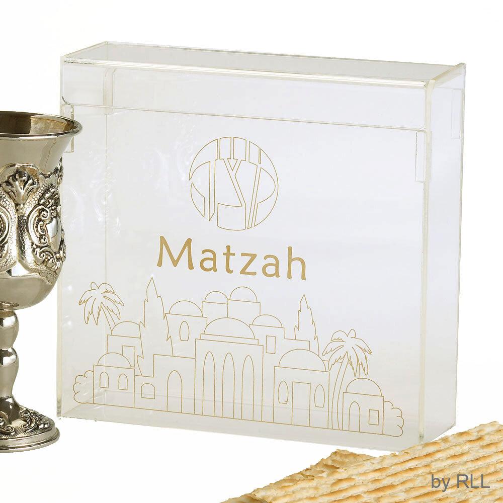 MATZAH TRAY ACRYLIC SQUARE