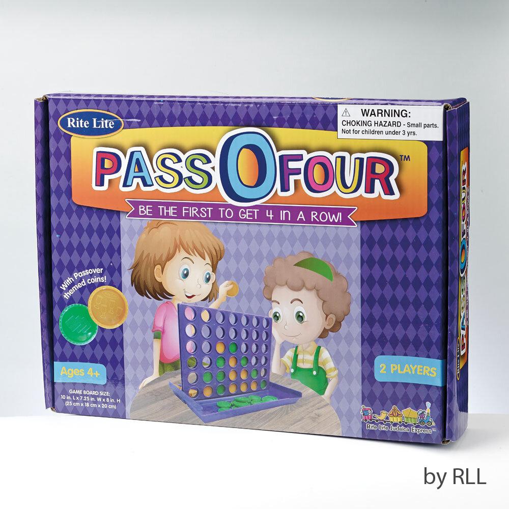 PASS O FOUR PASSOVER GAME