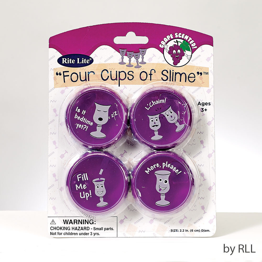 PASSOVER FOUR CUPS OF SLIME