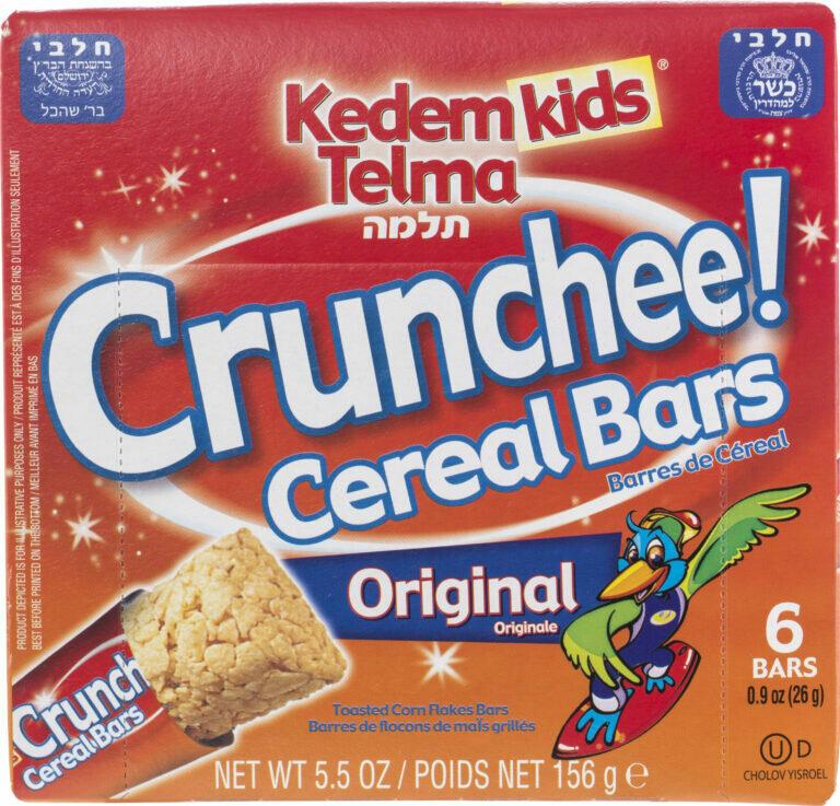 Cereal Bars Original 5.5oz Kedem Y