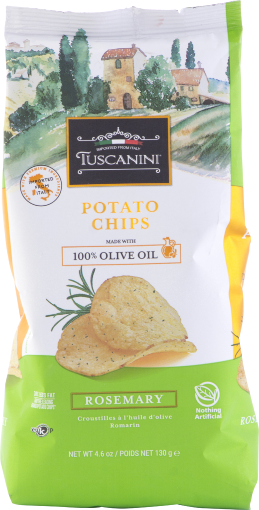 Olive Oil Potato Chips RosemaryÊGF 4.6oz Tuscan KP