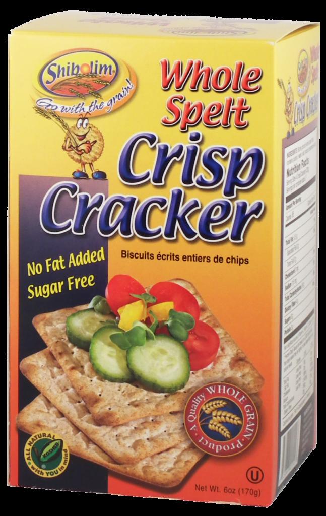 Spelt Crisp Crackers 6oz  Shibolim Y