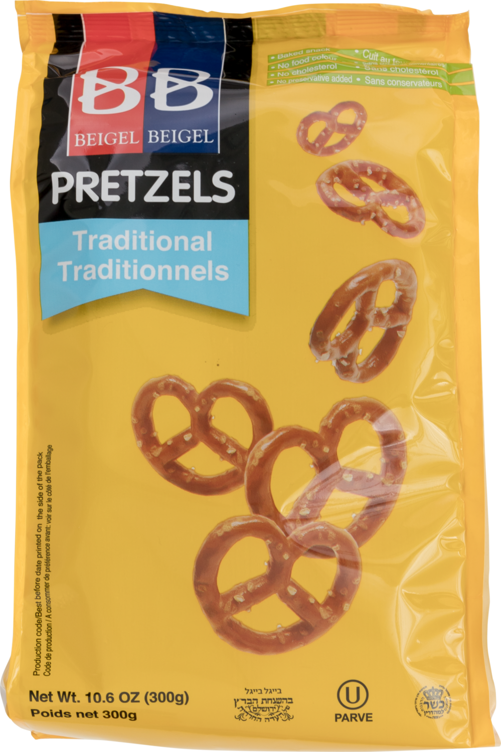 Traditional Pretzels 10.6oz B&B Y