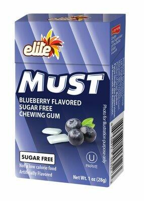 Gum Must Blueberry SF 1oz Elite Y