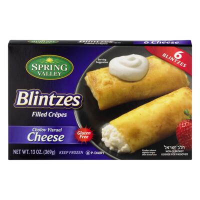 Cheese Blintz 13oz Spring Valley KP