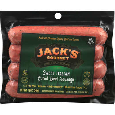 Sweet Italian Sausages 12oz Jacks KP