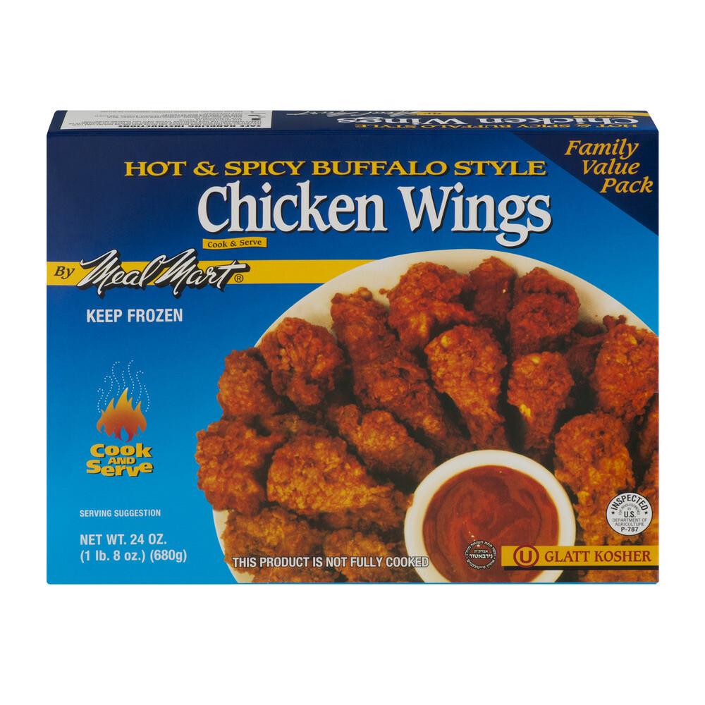 Buffalo Chicken Wings 24oz Meal Mart KP