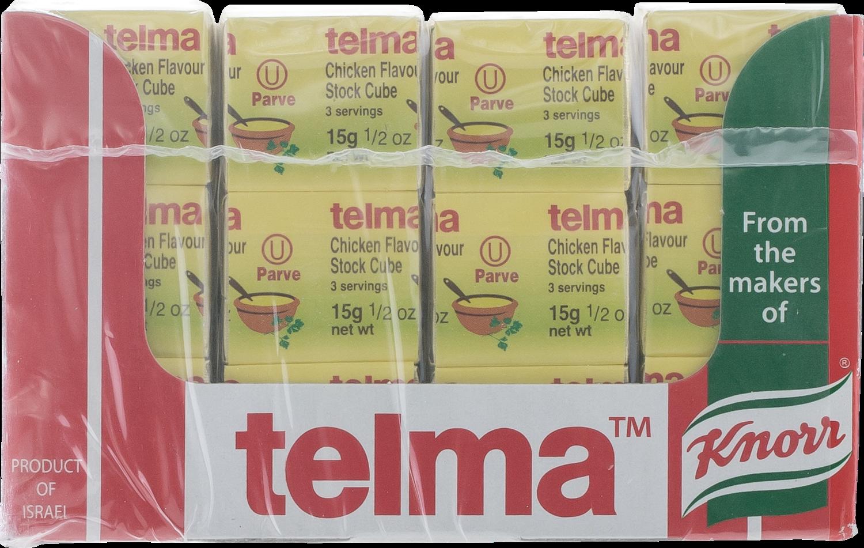 Chicken Flavored Cubes Parve 0.5oz Telma Y