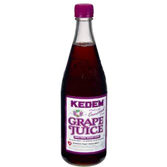 Concord Grape Juice 22oz Kedem
