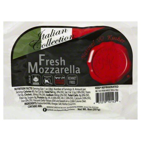 Fresh Mozzarella Ball N-K KP