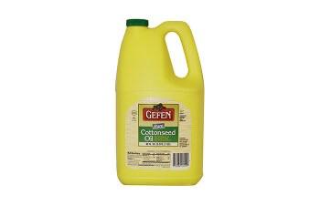 Cottonseed Oil 96oz Gefen KP