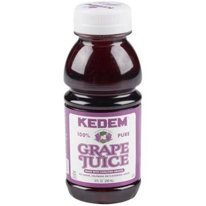 Concord Grape Juice 8oz. Kedem KP