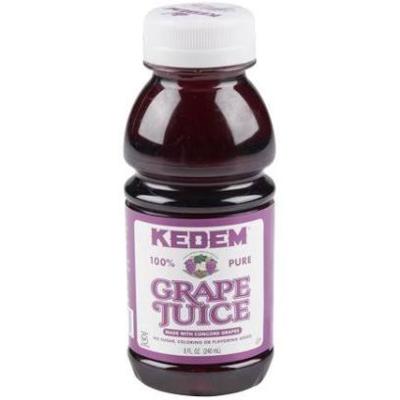 Concord Grape Juice 8oz. Kedem KP