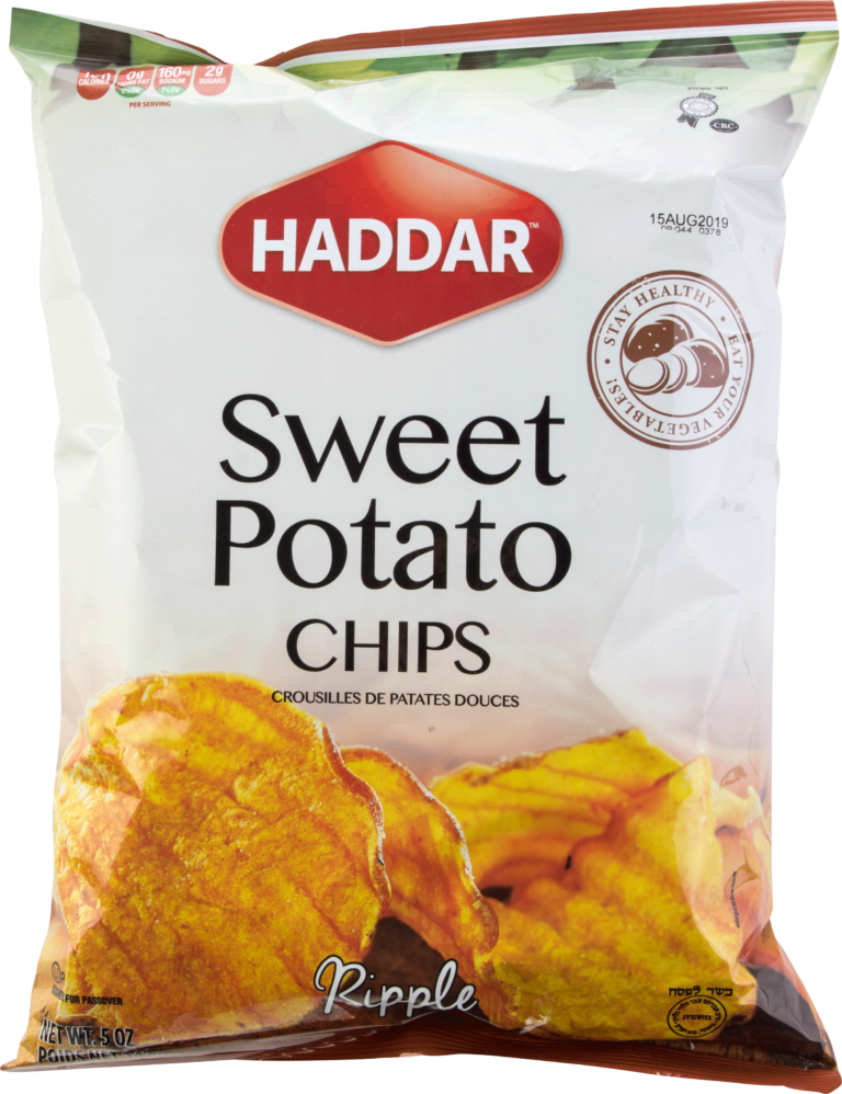 Sweet Potato Chips 5Oz Haddar KP