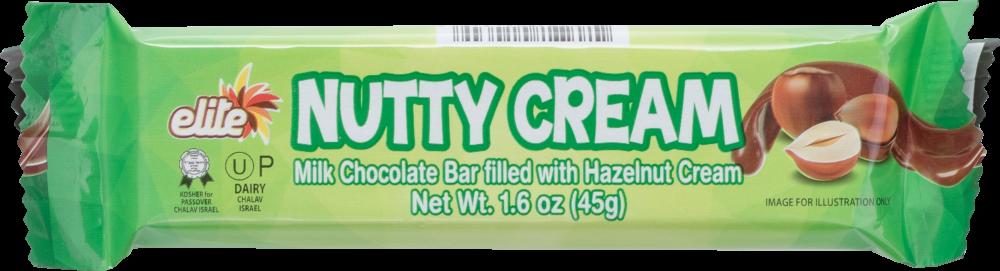 Nutty Cream Chocolate Bar 1.6oz Elite KP