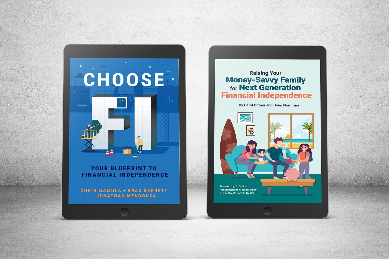 eBook Double Bundle 2: Choose FI & Raising Your Money-Savvy Family