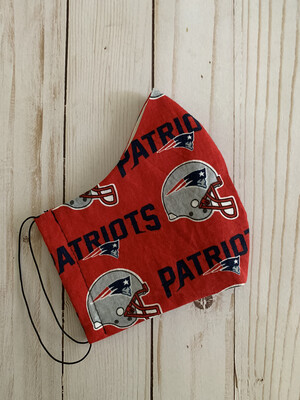 Cloth Face Mask: PATRIOTS