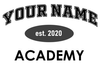 Custom Academy Tee