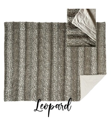 Throw Blanket -Leopard