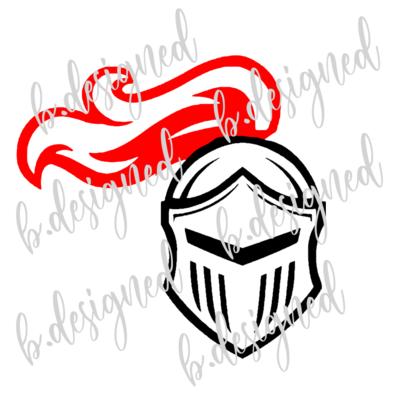 Knight Helmet 2 Color