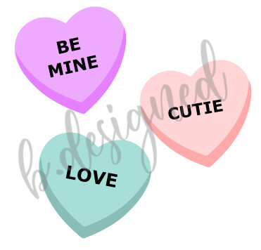 Convo Hearts SVG