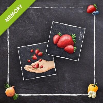 Ernährungsmaß Memory 24 Karten