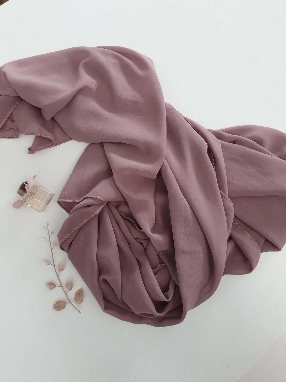 Lavander chiffon hijab
