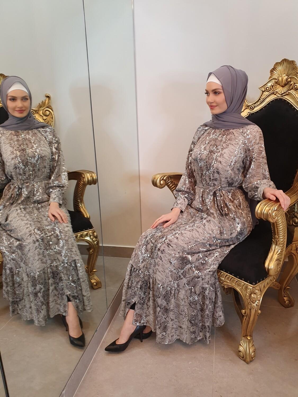 Dubai Dress Silver