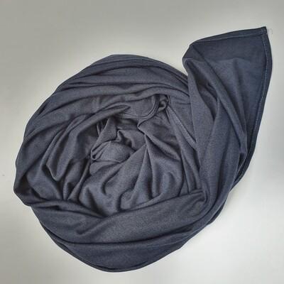 Jean Blue shiny cotton Hijab