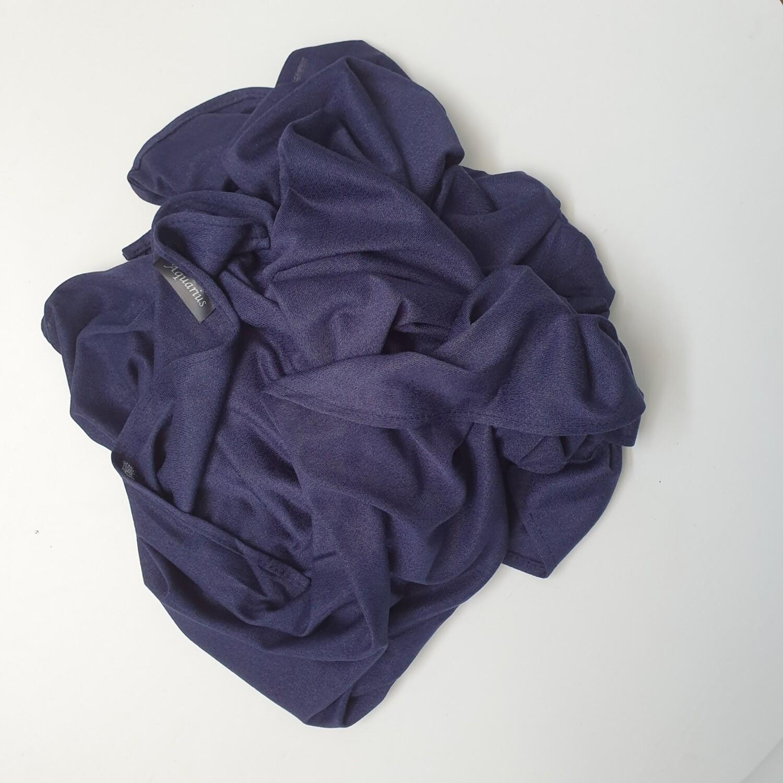 Dark Blue Cotton Hijab