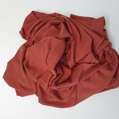Rust Shiny Cotton Hijab