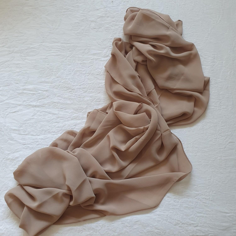 Gold Folded Stitch Hijab