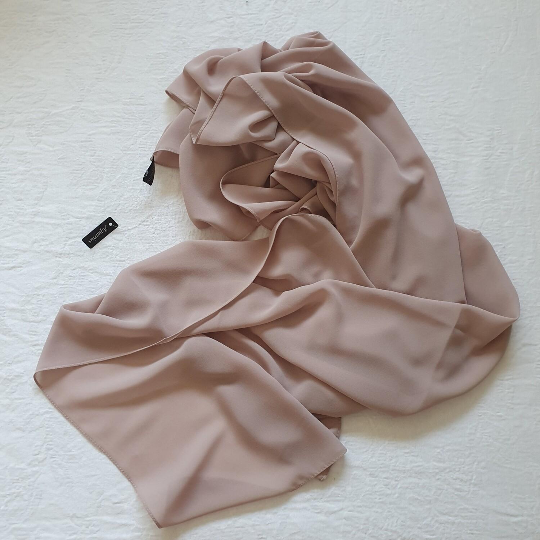 Sweet Nude Stitch Hijab