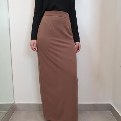 Basic pencil skirt Mocha