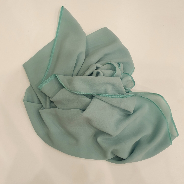 Aqua green hijab