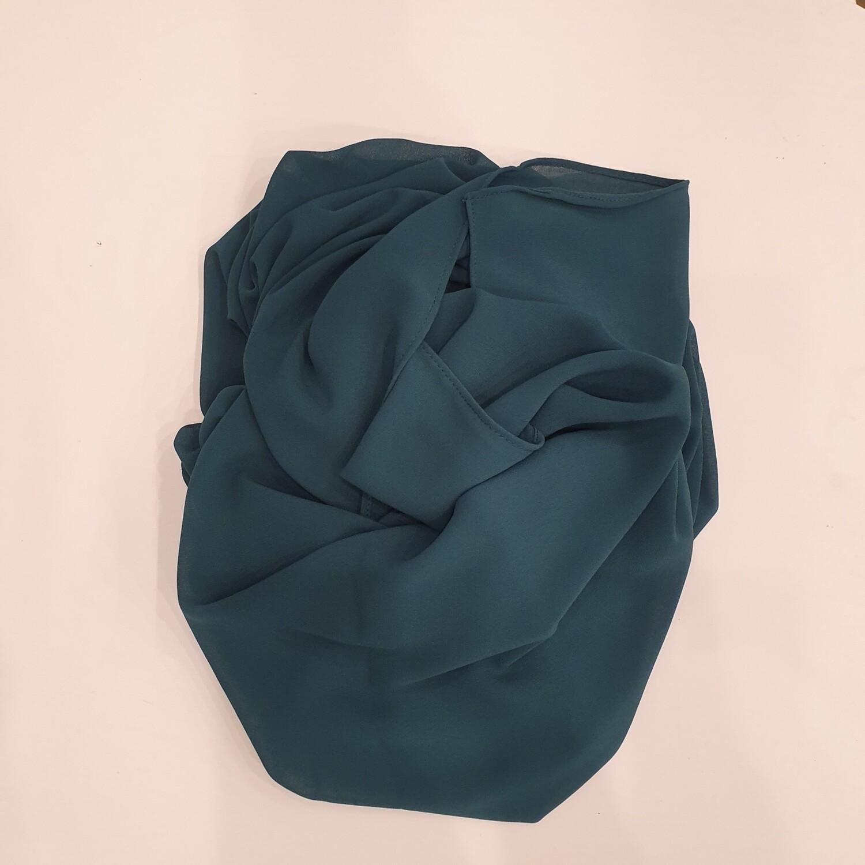 Green chiffon Hijab