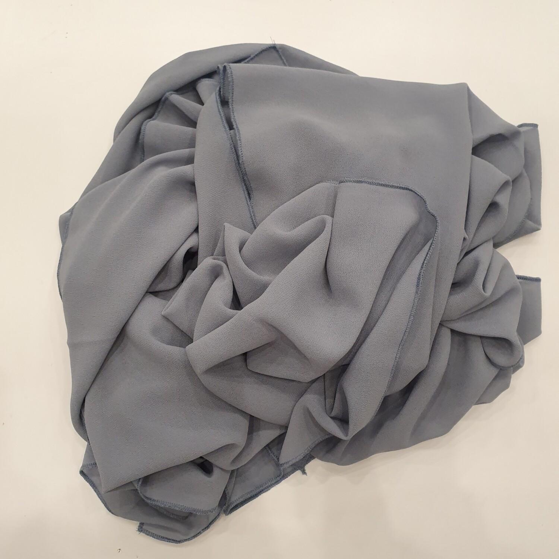 Chiffon hijab in powder