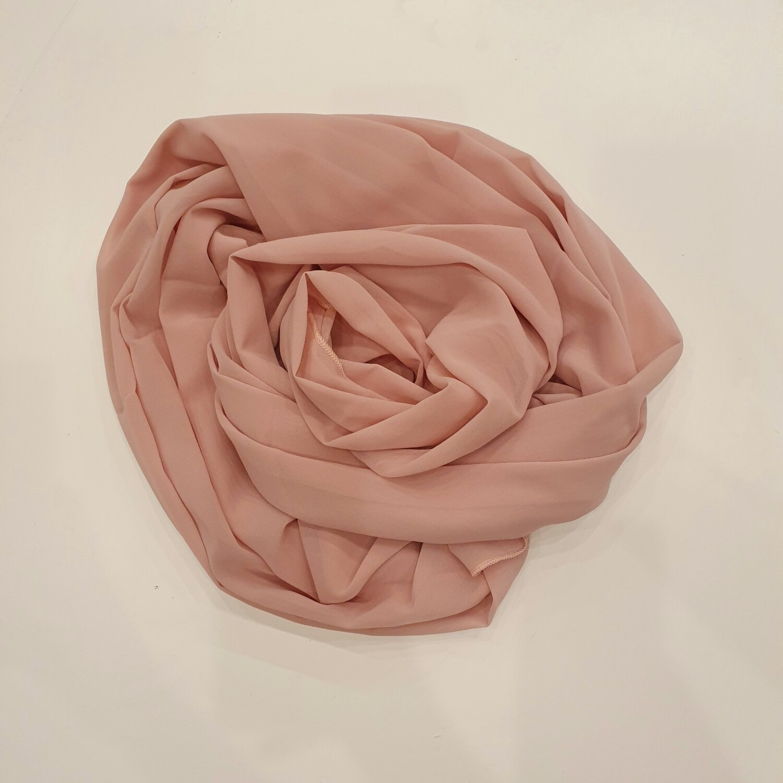 Baby Pink Chiffon Hijab