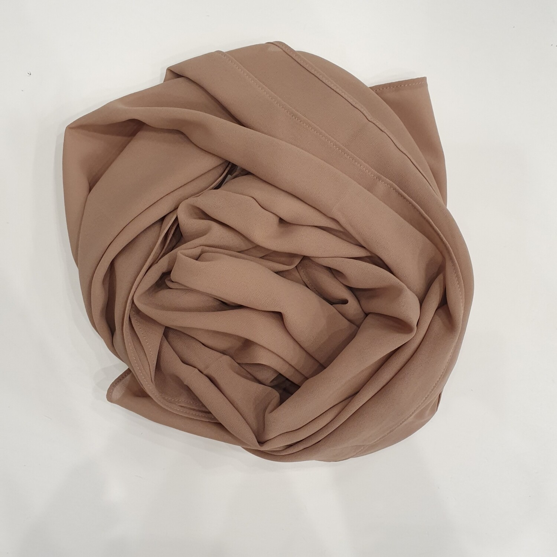 Dark Nude hijab