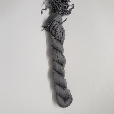 Tassle Hijab grey