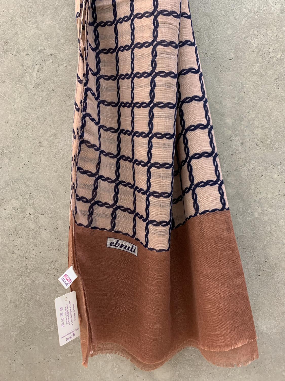 Cotton Hijab Rust