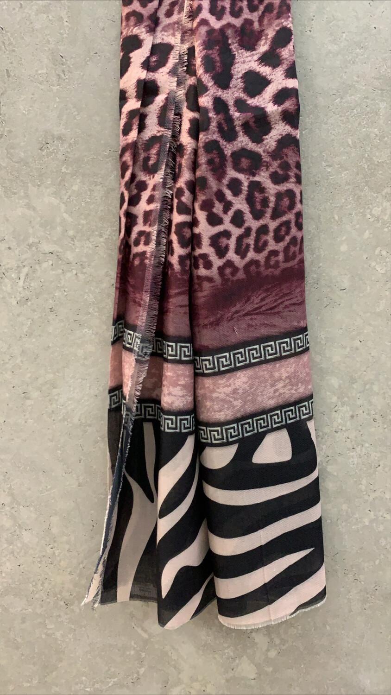 Cotton Hijab Leopard